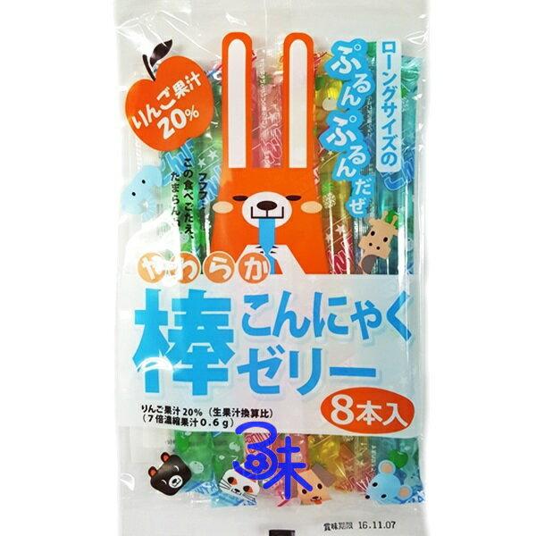(日本) 共親製果 動物朋友 綜合果凍棒 (可愛動物 綜合果凍條)  1包 168 公克 特價 48 元 【4902871050664 】