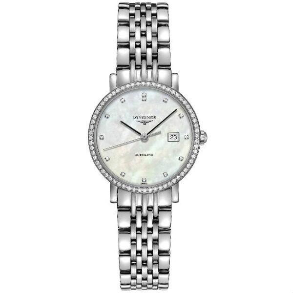 LONGINES浪琴表L43100876琴韻優雅系列腕錶珍珠母貝面29mm