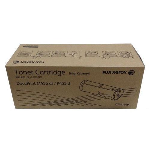 富士全錄 Fuji Xerox CT201949 原廠高容量黑色碳粉匣(適用 DocuPrint P455 d / M455 df)