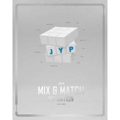 JYP NATION KOREA 2016 MIX & MATCH PHOTOBOOK