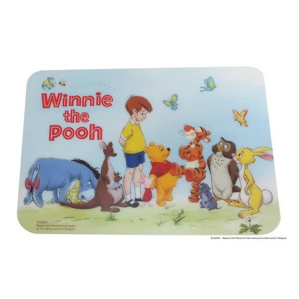 X射線【C712939】小熊維尼Winnie the Pooh 日本製餐墊 ,廚房/砧板/防滑墊/雜貨/隔熱墊/墊板