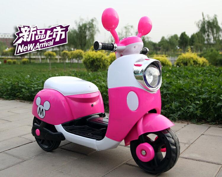 米奇兒童電動車摩托車三輪車(現貨+預購)