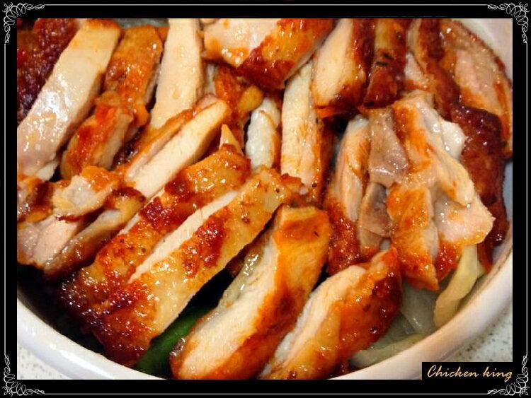 雞王 Chicken king  {勁辣雞腿排} 12片/盒 1公斤/包