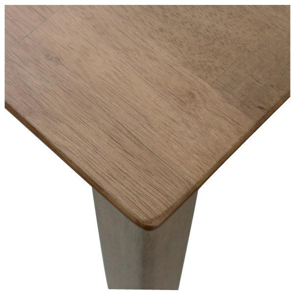◎(OUTLET)實木餐桌 SOLID2 135 MBR 橡膠木 福利品 NITORI宜得利家居 5