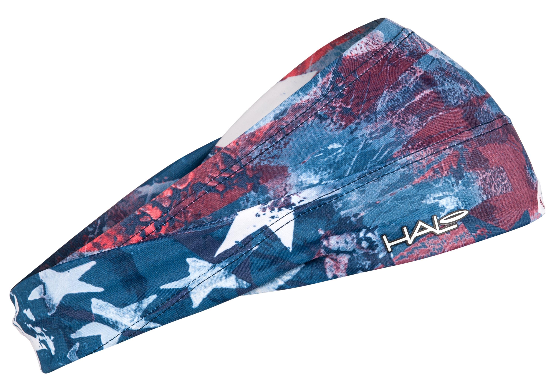 汗樂(HALO BANDIT)超寬版套頭式頭帶-星空凝視,由額頭10公分,逐漸往後窄至4公分,六款花色造型,塑造個人風格