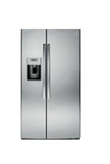 GE 美國 奇異 GSE25HSSS 733L 對開門冰箱 不銹鋼灰色 - 限時優惠好康折扣