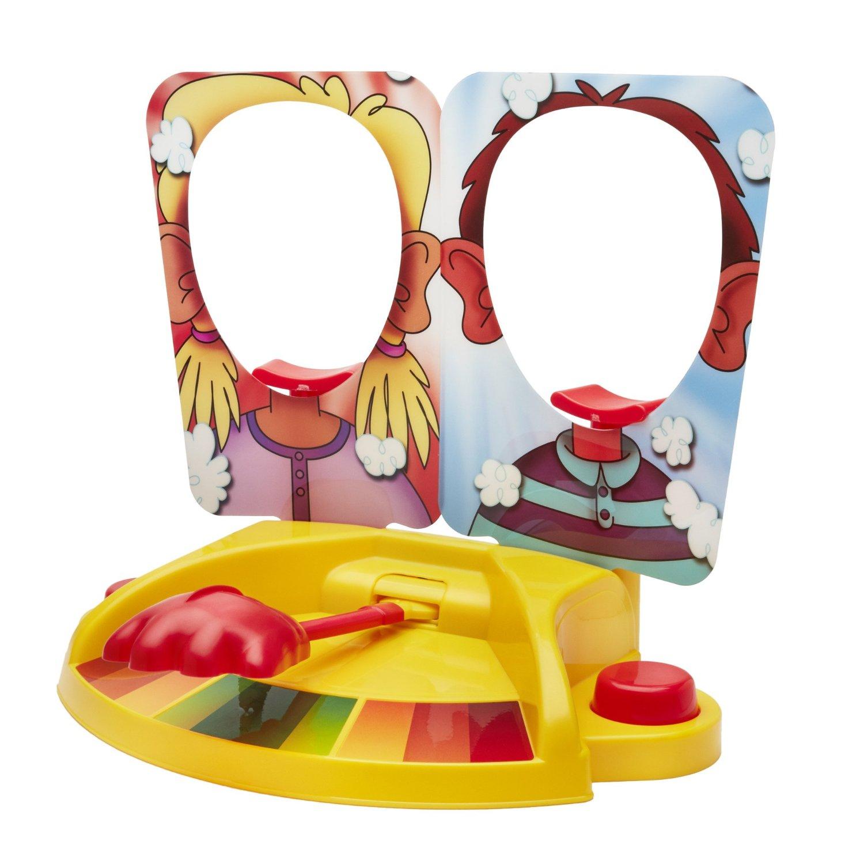 雙人打臉機 奶油砸派機pie face showdown第二代砸拍臉機整蠱玩具