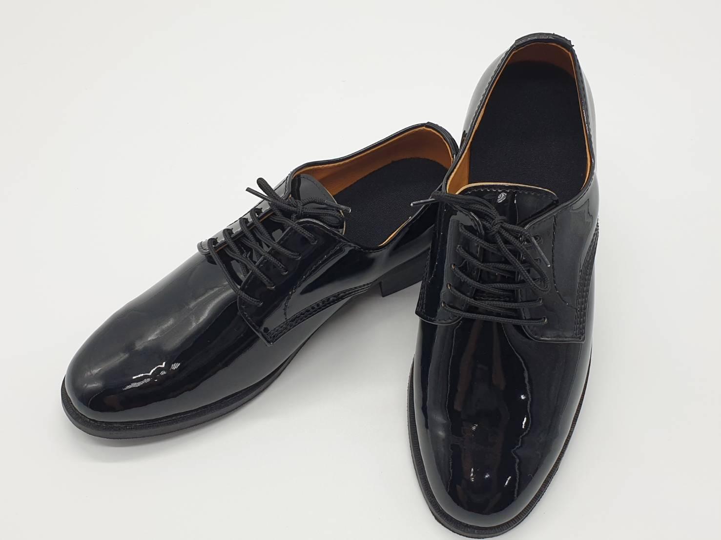 亮皮小皮鞋  黑鞋/皮鞋/軍鞋/ 黑色 七個尺碼可選