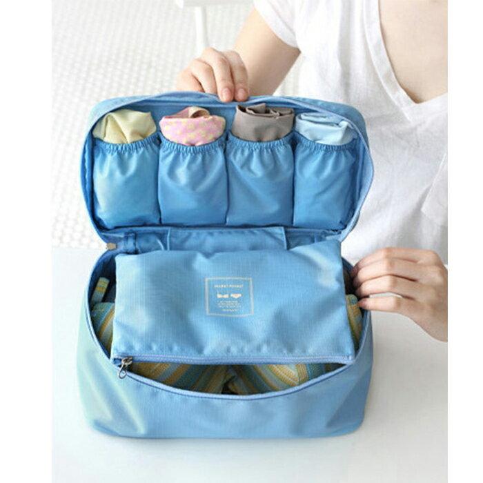 【酷創意】韓流新款 旅行多功能 內衣收納包 內衣整理包 便利攜帶 洗漱包E18