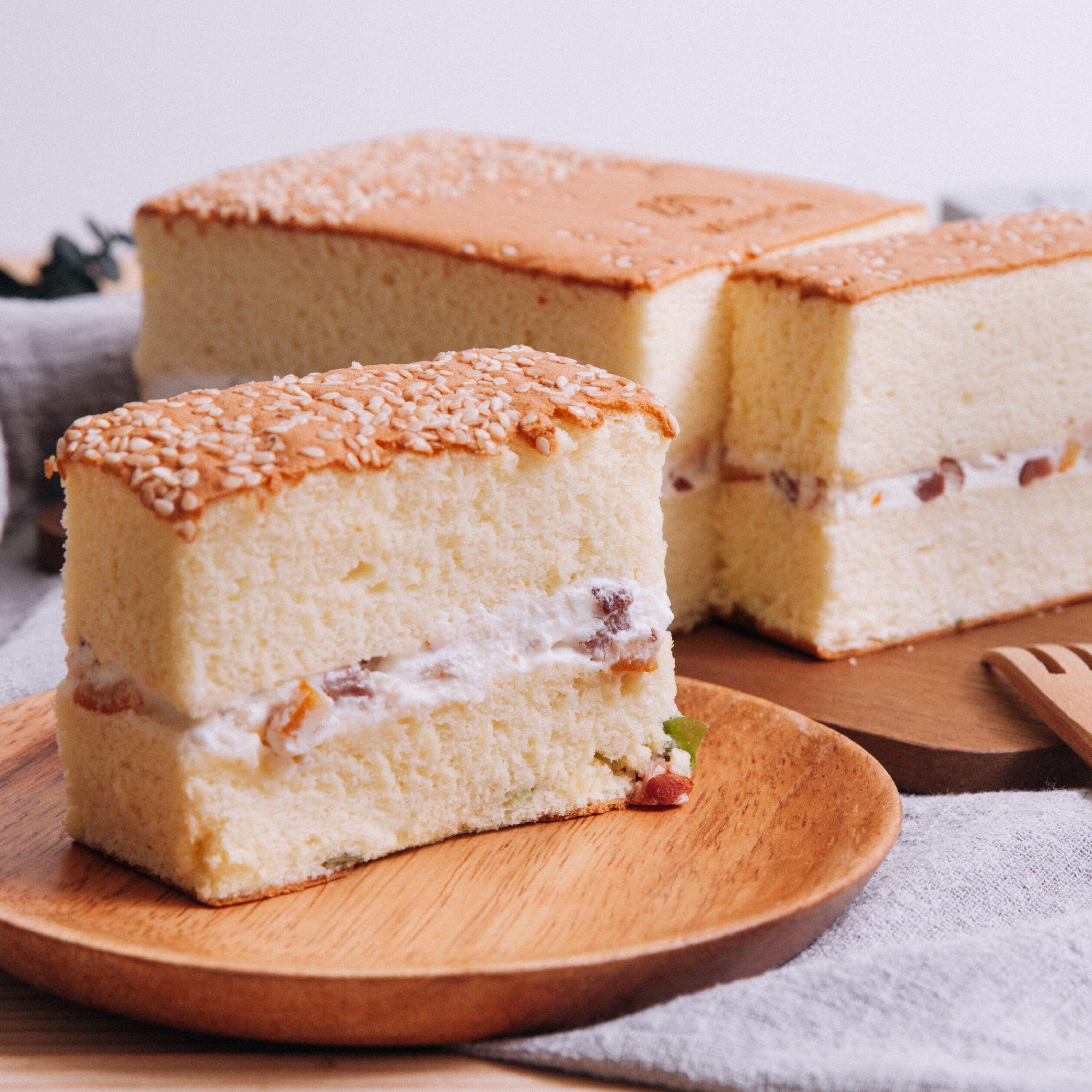 人氣鹹蛋糕2入口味▶再送芒果花乳酪盒【5折】599免運