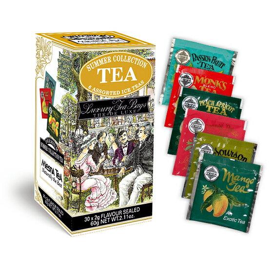 曼斯納 MlesnA - SUMMER COLLECTION 夏日組合紅茶特選包 (30入/盒、6種風味) 錫蘭紅茶/茶包/茶葉