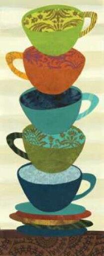 Stacking Cups I Poster Print by Jeni Lee (24 x 48) 26ec4d0e0e9fa6855a36960e7bbc9f92