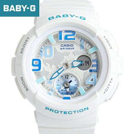 Baby~G 清新白藍雙顯手錶 柒彩年代~NECB13~casio BGA~190~7BD