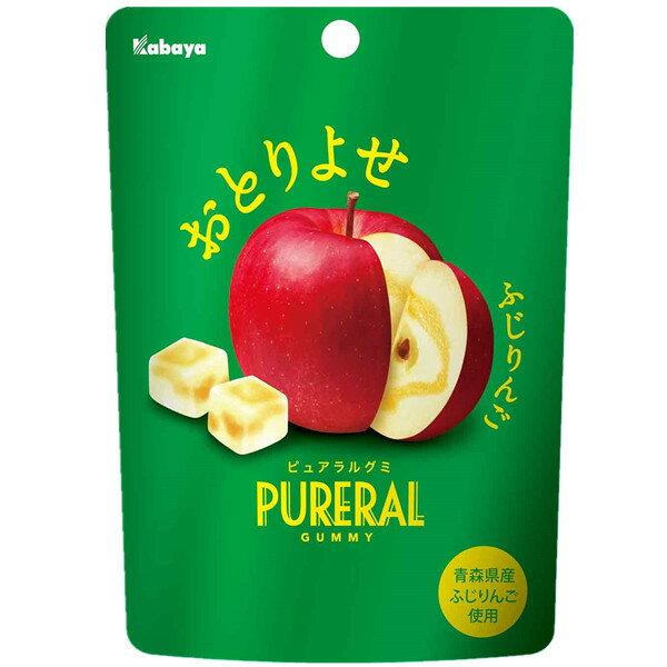 【Kabaya卡巴】PURERAL新食感蘋果果汁軟糖 45g ??? ??????? ???★1月限定全店699免運