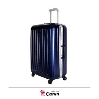 【加賀皮件】CROWN 皇冠 鋁框 PC 拉桿箱 旅行箱 29吋 行李箱 C-F2857