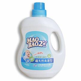 【淘氣寶寶】毛寶兔 超天然小蘇打植物2倍濃縮洗衣精 1000g