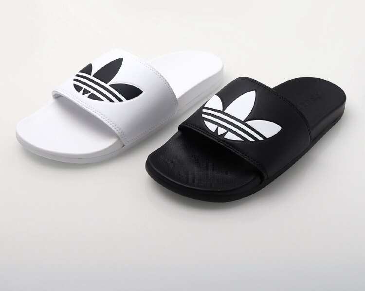 KUMO SHOES-現貨Adidas Originals ADILETTE LITE 三葉基本款LOGO ...