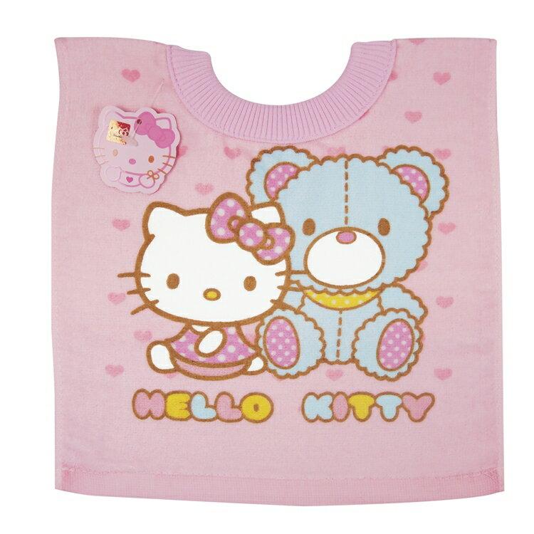 佳美 - Hello Kity凱蒂貓毛巾圍兜
