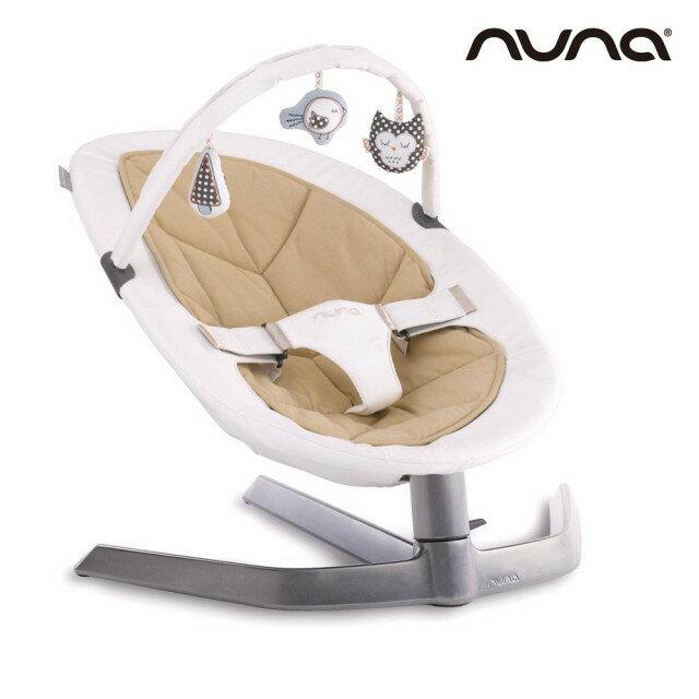 【贈專用玩具條+收納袋+玩偶(隨機)】荷蘭【Nuna】Leaf Curv搖搖椅(深米) 2