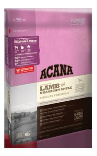 新愛肯拿ACANA《美膚新無穀羊肉蘋果》11.4kg