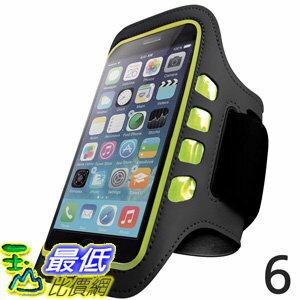 [106美國直購] iPhone 手臂帶含LED燈 Iphone 6 and 6S Armband Best for Running Sports and Workout LED Lights