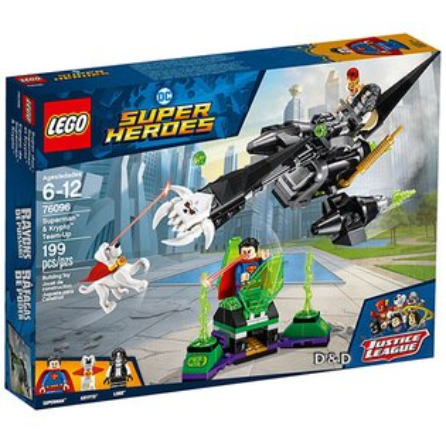 樂高積木LEGO《LT76096》2018年SUPERHEROES超級英雄系列-Superman™&Krypto™Team-Up