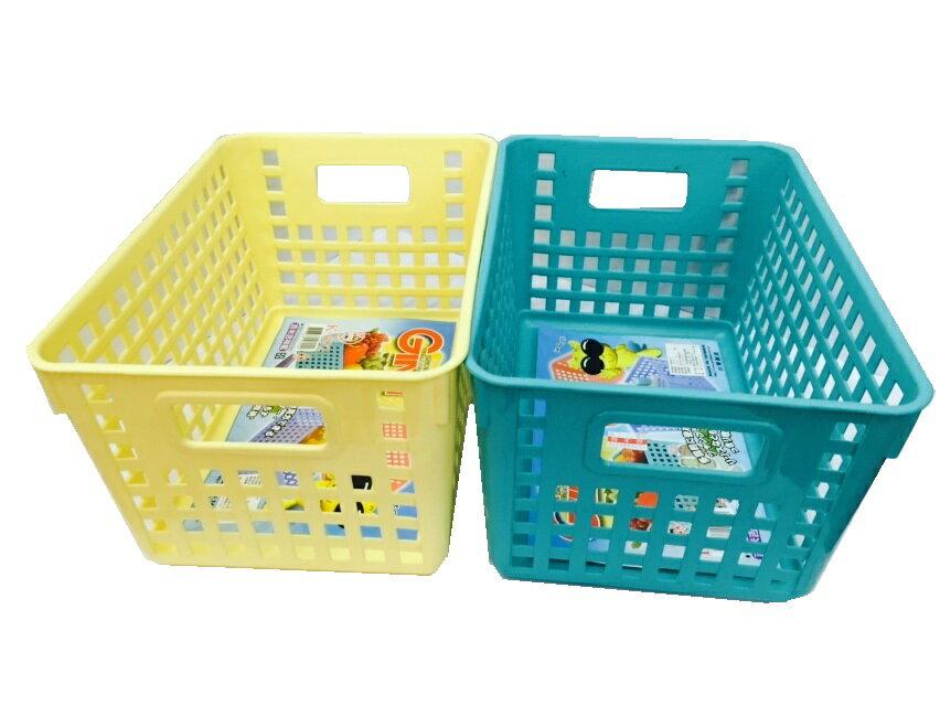 【豪上豪】吉米小流行籃K654/吉米熊系列/置物籃/盒子/收納盒(不挑色)