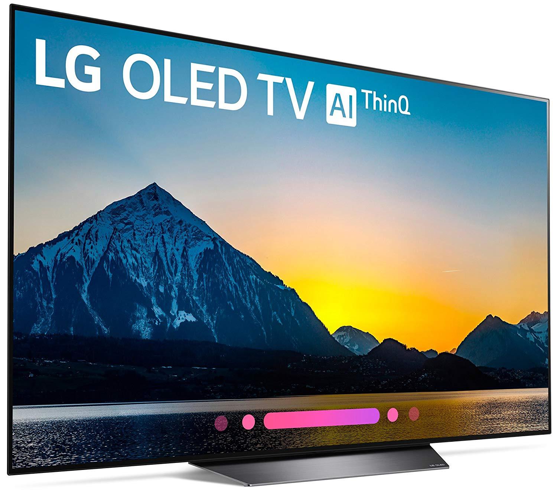 42aab8998395 LG Electronics OLED65B8PUA 65-Inch 4K Ultra HD Smart OLED TV (2018 Model)