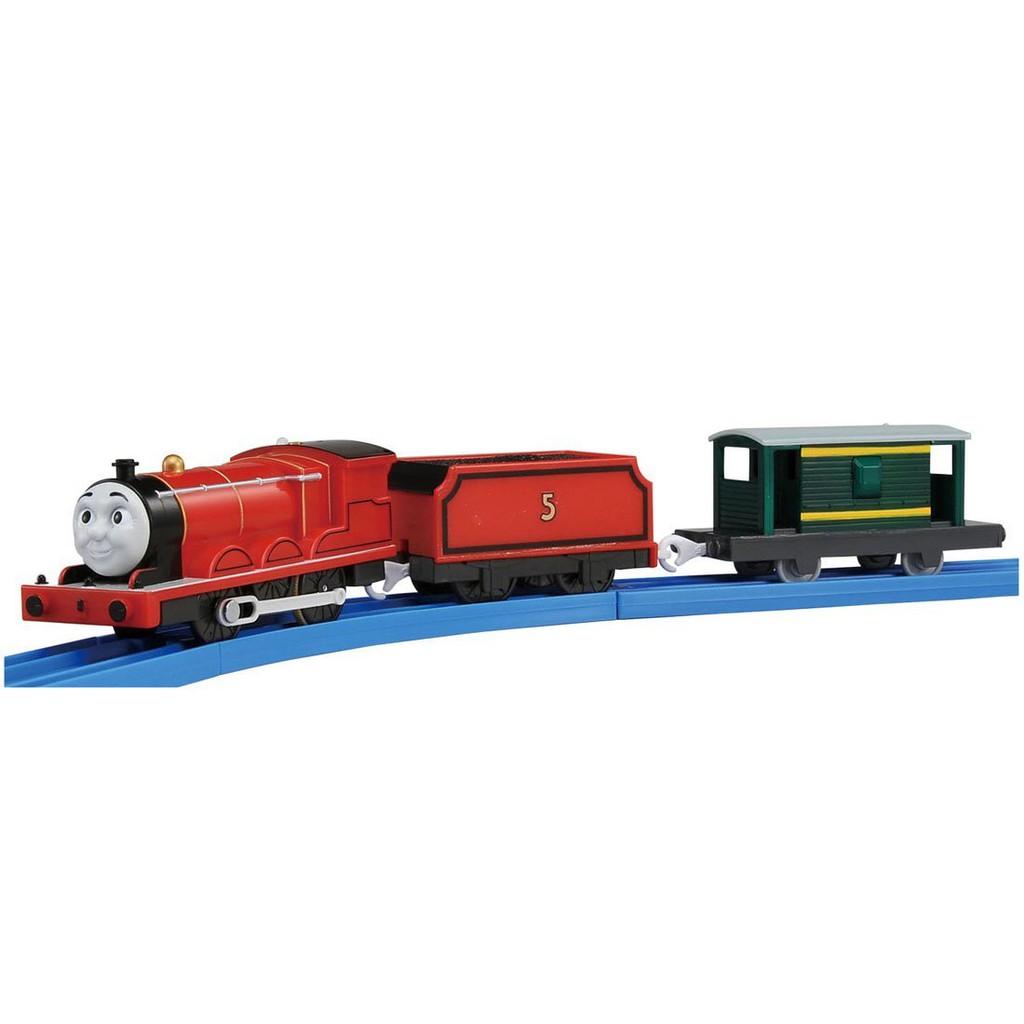 【預購】Plarail Takara Tomy 湯瑪士小火車 TS-05 電動軌道火車系列 詹姆士  鐵道王國【星野日本玩具】