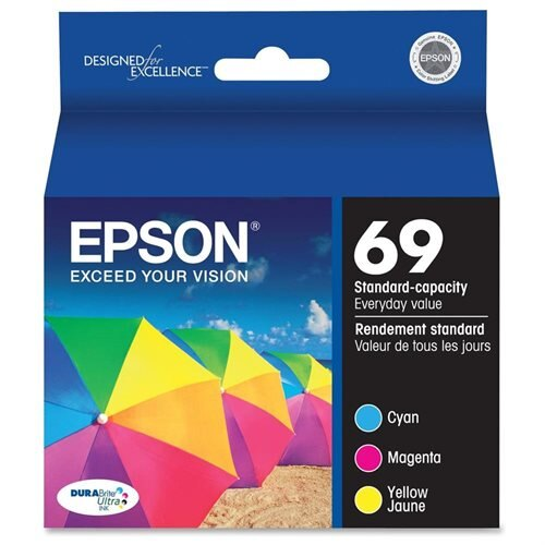 Epson Color Ink Cartridges - Cyan, Magenta, Yellow - Inkjet - 1 0