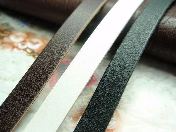 100米 8MM高檔PU皮條皮繩單面皮 DIY飾品配件皮繩 3色