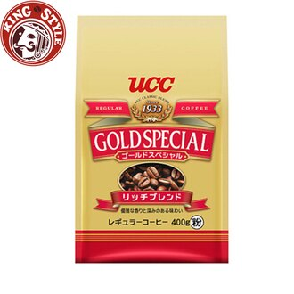 金時代書香咖啡【UCC】金質香醇研磨咖啡粉(400g)