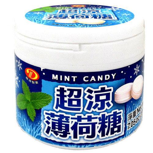 綠得製菓 超涼薄荷糖 200g
