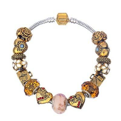 ~手鍊潘朵拉元素串珠手鍊925純銀~琉璃飾品獨特 七夕情人節生日 女 73bn16~ ~~
