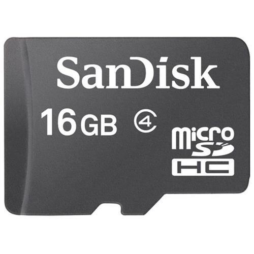 SanDisk 16GB microSDHC Class 4 16G microSD High Capacity micro SD SDHC C4 TF Flash Memory Card SDSDQ-016G Retail