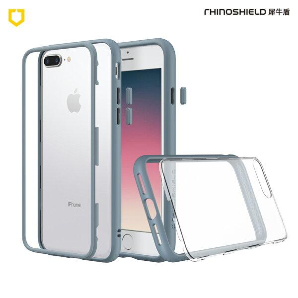 【RhinoShield犀牛盾】iPhone78PlusMod邊框背蓋二用手機殼牛仔藍【三井3C】