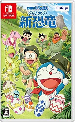 預購中 12月發售  中文版 [普遍級] NS 哆啦A夢 大雄的新恐龍