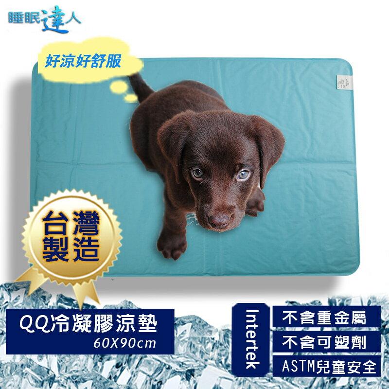 【睡眠達人】QQ冷凝膠寵物涼墊涼蓆(60x90cm*1件),夏月節電,抗暑必備,台灣專利+製造 ★換季冬季限定價