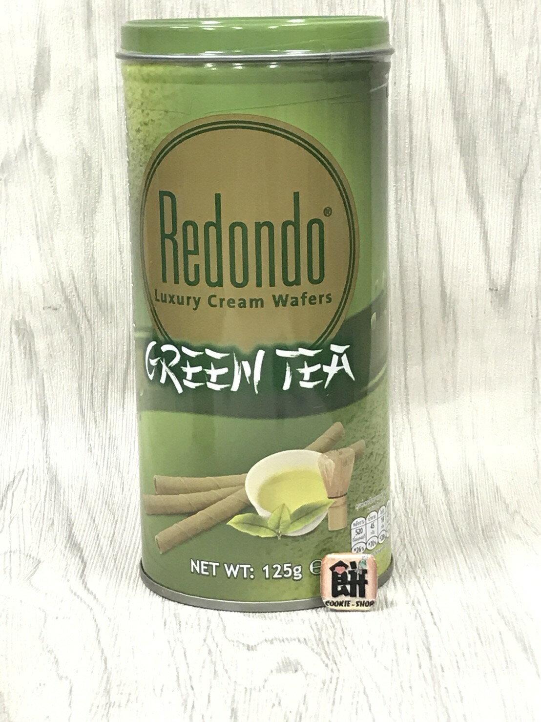 《瑞登》歐式捲心酥(綠茶口味)-125g