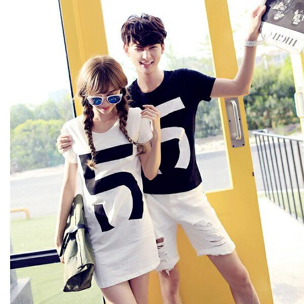 ◆快速出貨◆T恤.情侶裝.班服.MIT台灣製.獨家配對情侶裝.客製化.純棉短T.5【Y0315】可單買.艾咪E舖 2