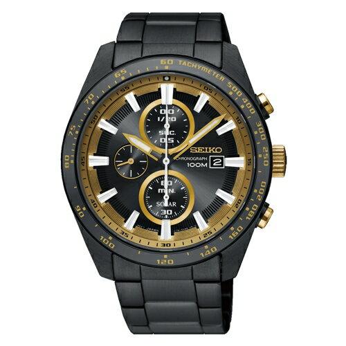 方采鐘錶:SSEIKO精工CRITERIA太陽計時運動腕錶SSC659P1V176-0AV0K