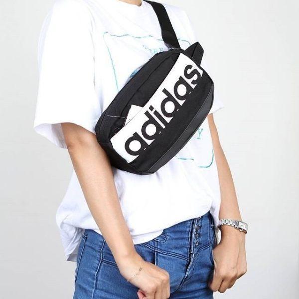 KUMO SHOES-ADIDAS LIN PER WAISTB 黑色 小型 腰包 S99983