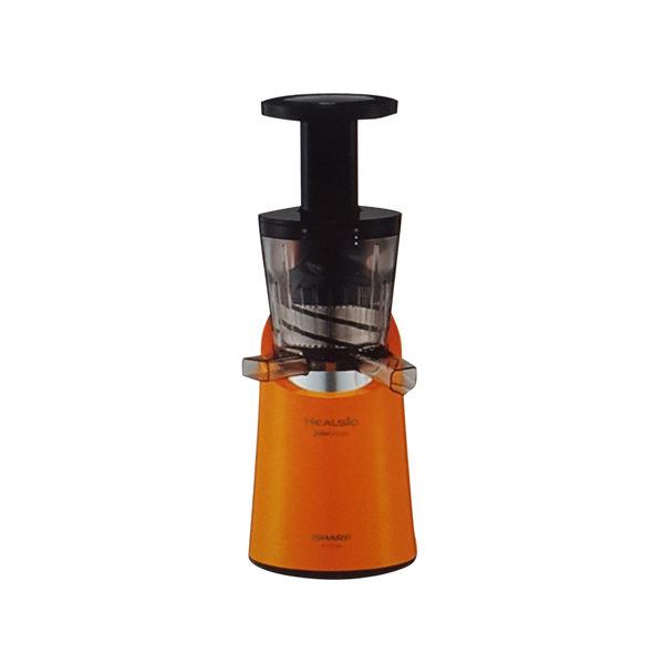 日本代購-SHARP HEALSIO系列 慢磨果汁機 EJ-CF10A 三選一色 (色號:紅色/綠色/橘色)