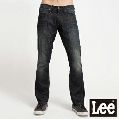 【單一價↘899】Lee Knox 728 低腰標準直筒牛仔褲-男款(中古深藍)