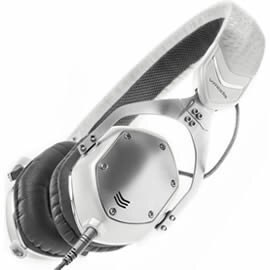 <br/><br/>  志達電子 XS-U-Wsilver V-MODA XS 耳罩貼耳式隔音金屬摺疊耳機<br/><br/>