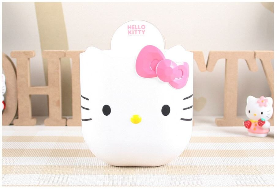 X射線【C090144】Hello Kitty 吸盤式置物架(白.大臉),肥皂盒/牙刷架/掛勾/收納/浴室置物櫃/瀝水架/置物架