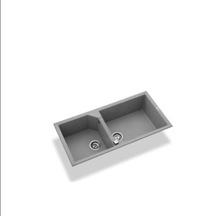 TEKNO490 elleci 阿雷希 金屬結晶石水槽(組) 零利率 熱線:07-7428010 - 限時優惠好康折扣