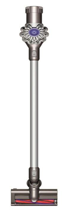 ~贈床墊吸頭,壁掛架~  Dyson 戴森 V6 SV03 無線手持式吸塵器 (太空銀)【零利率】※熱線07-7428010