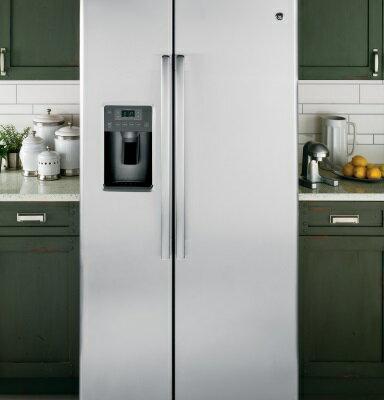 <br/><br/>  美國GE奇異GSE25HSSS 對開門冰箱(733L)【零利率】※熱線07-7428010<br/><br/>