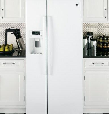 美國GE奇異 GSS23HGWW 對開門冰箱(702L)【零利率】※熱線07-7428010